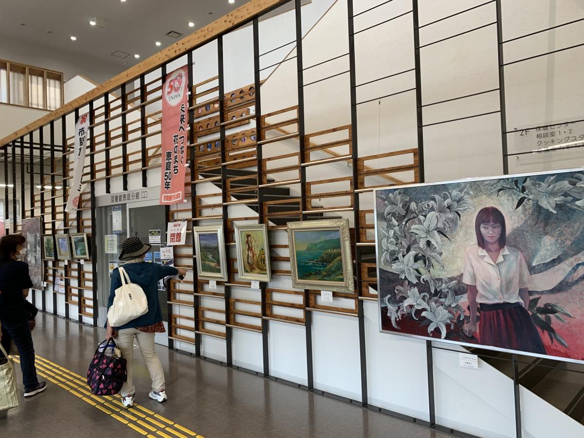 絵画サークル「えのぐ箱」会員作品展開催のお知らせ