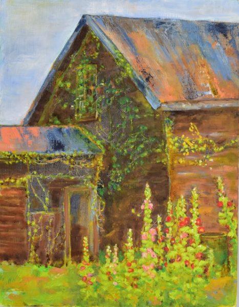 蔦の這う家