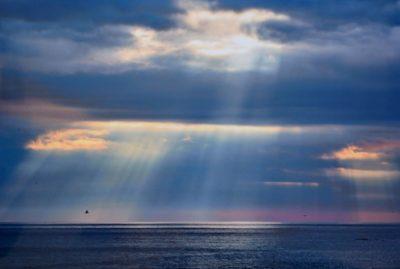 浜辺の光芒