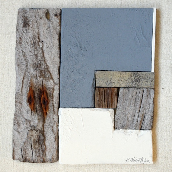 木片のための色構成