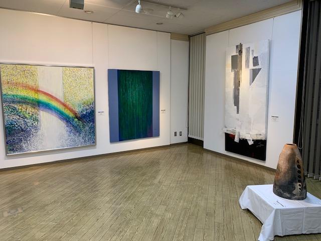 北広島・恵庭・千歳3市美術協会交流展を開催しました
