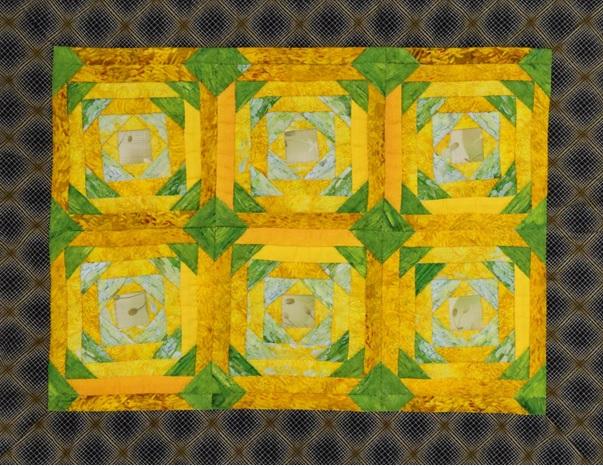パインナップルのパターン