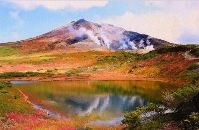 初秋の旭岳