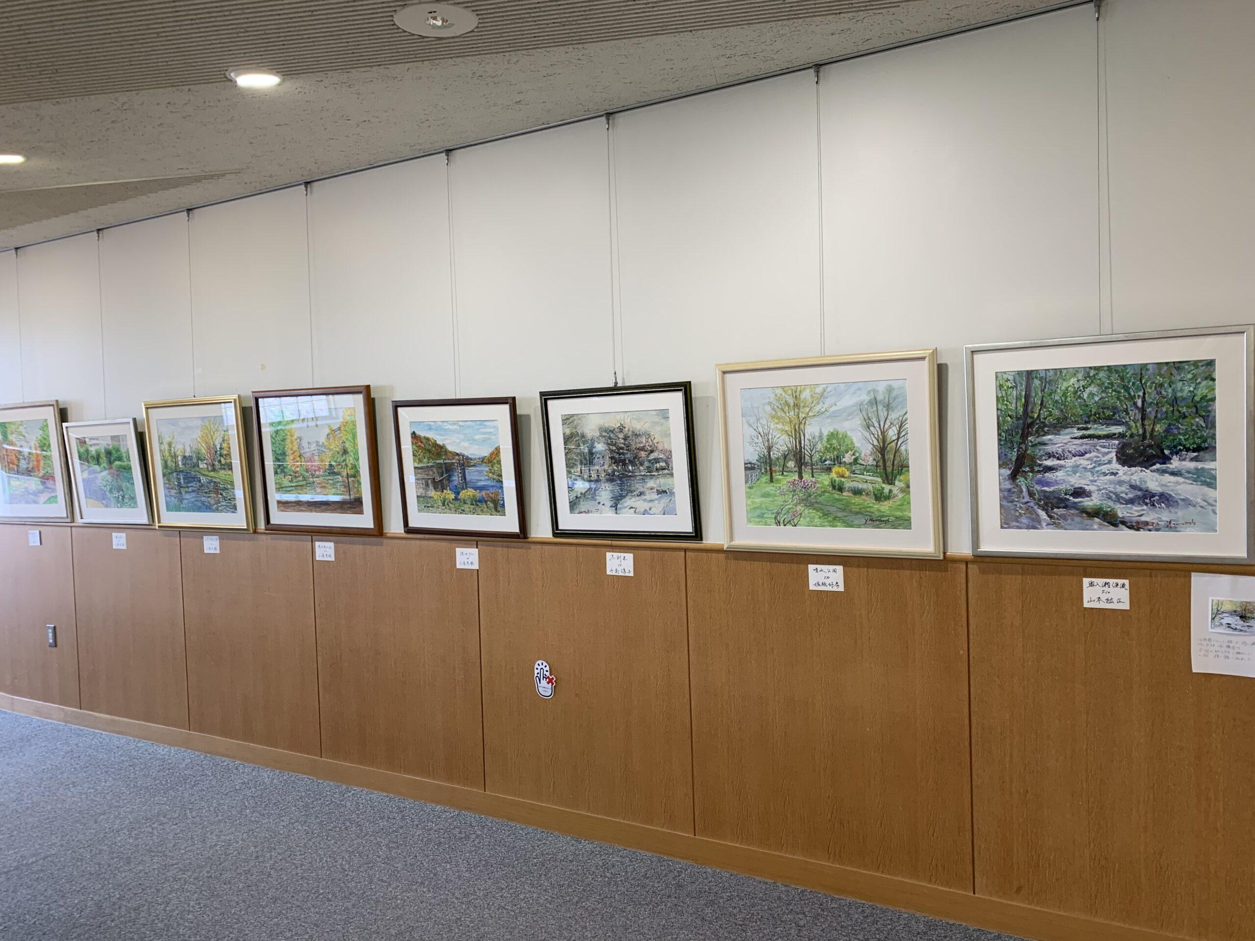 「山本紘正絵画教室展」を開催しました